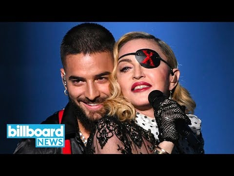 Madonna & Maluma Television Debut of 'Medellin' at 2019 BBMAs   Billboard News