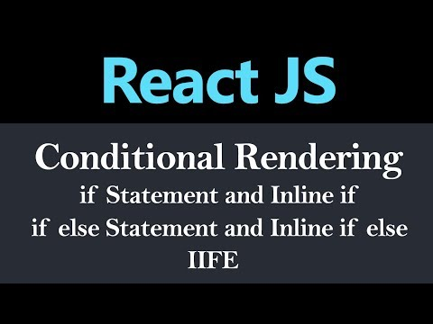 Conditional Rendering in React JS (Hindi) thumbnail