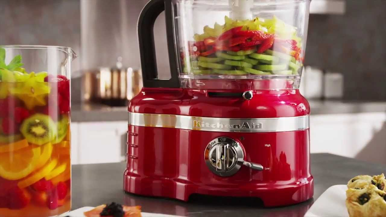 Pro Line® Series 16 Cup Food Processor | KitchenAid   YouTube
