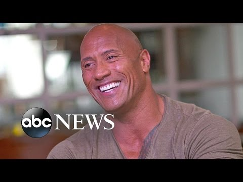 The Rock Interview: Shed 'Manly Tears' During Moana