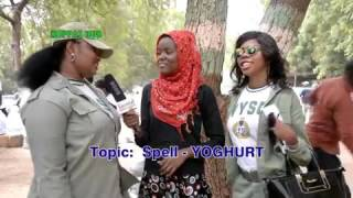 Watch this female corpers who can't spell youghrt