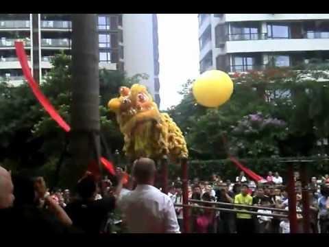 Mc Cawley's ShenZhen Grand Opening ! Dragon Dancers