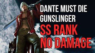 Devil May Cry 3 HD - True Style Gunslinger - Dante Must Die