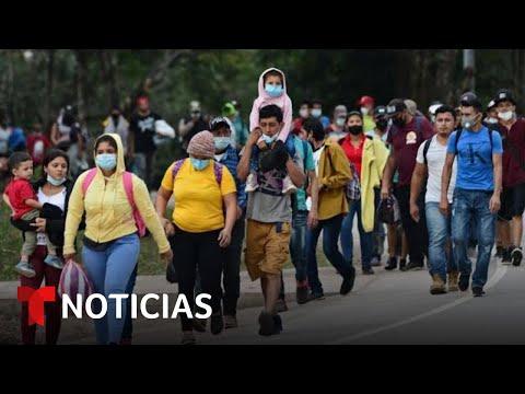 Cientos de migrantes se preparan para retornar a EE. UU. | Noticias Telemundo