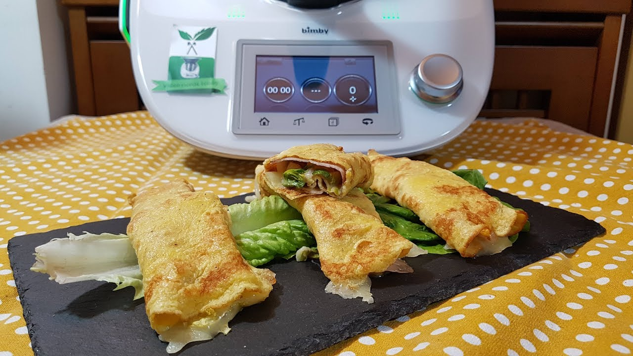 Ricetta Omelette Bimby Tm5.Omelette Ripiene Per Bimby Tm6 Tm5 Tm31 Youtube