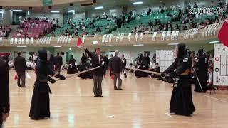 2018年全日本実業団剣道大会 6回戦 NTT(本社)×三井住友海上(本店)