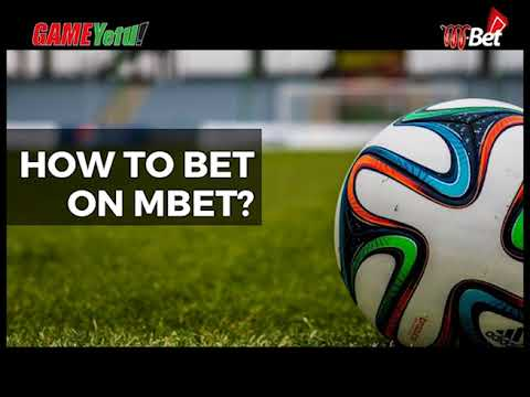 How to register and place a Mbet