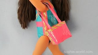Download lagu How to Make a Duct Tape Beach Bag for your Doll Sophie s World MP3