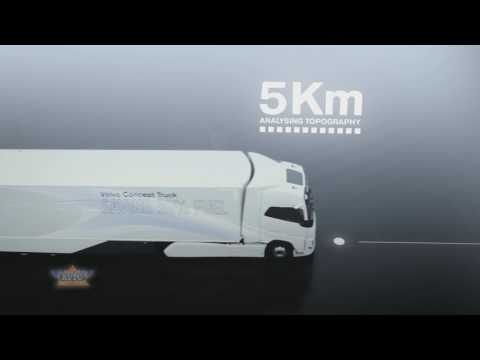 Volvo Concept Truck Featuring Hybrid Powertrain