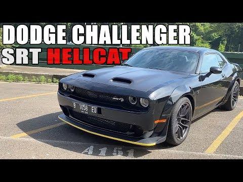 KE KAMPUS NAIK MUSCLE CAR !!! | DODGE CHALLENGER HELLCAT | CARVLOG #213