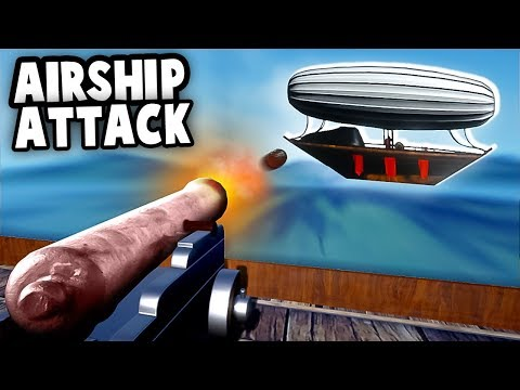 STEAMPUNK Airship Duel Battle! THIS IS HARD (A Collection of Bad Moments Gameplay)