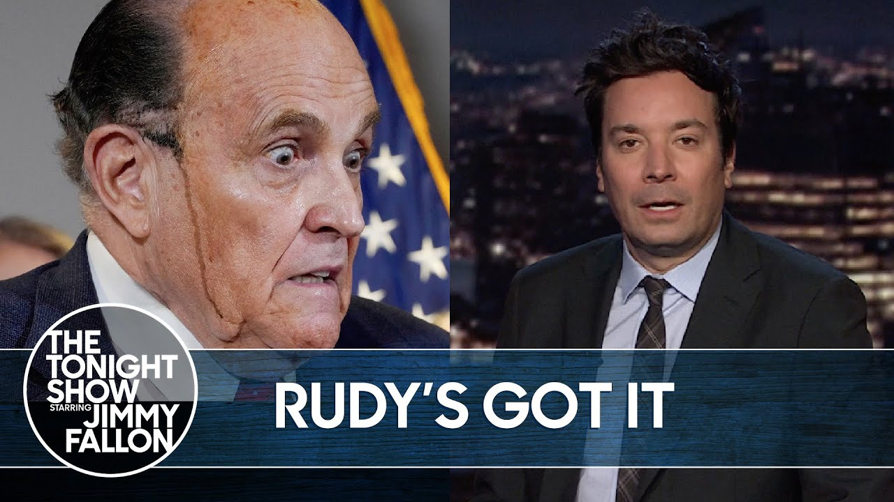 Rudy Giuliani Tests Positive for COVID-19 | The Tonight Show