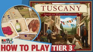 Tuscany - How To Play (Tier 3)