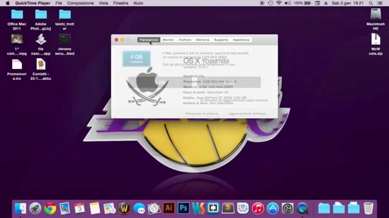 Angeloide: Sistemas Operativos: Mac Os X