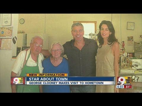 George Clooney, Amal Clooney visit Cincinnati, thrill fans witth photos