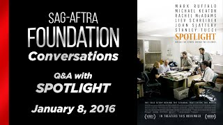 Conversations with SPOTLIGHT (in NY)