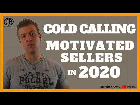Cold Calling Motivated Sellers in 2018 WARNING!!!