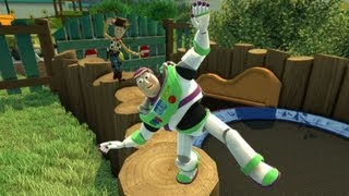 Kinect Rush A Disney Pixar Adventure - Incredibles, Toy Story, Cars, Up, Ratatouille gameplay (HD)