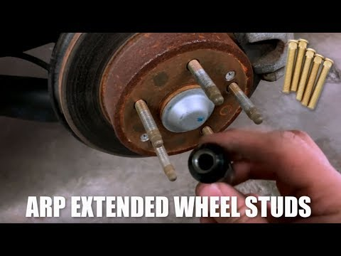 🔥 How to install ARP Extended Studs | DIY | Acura RSX Type S DC5 | Rear Studs