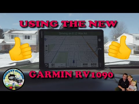 Checking Out The Garmin RV 1090 Lets Get Started