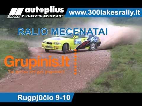 Autoplius 300 Lakes Rally 2013 reklama Retail Media tinkle