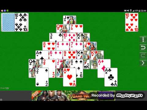Как играть в пирамиду карты