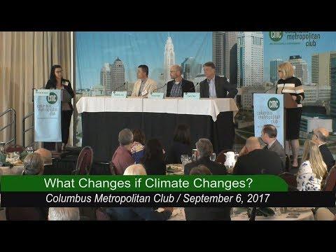 Columbus Metropolitan Club: What Changes if Climate Changes?