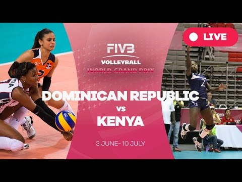 Dominican Republic v Kenya - Group 2: 2016 FIVB Volleyball World Grand Prix