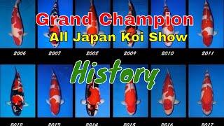 [2006-2018] Grand Champion All Japan Koi Show !!