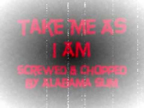 Take Me As I Am Mary J. Blige Screwed & Chopped By Alabama Slim