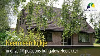 Binnenkijken in 14-pers. bungalow Hooiakker | Molecaten Park Het Landschap