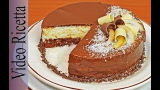 """Il dolce che vi presentiamo oggi lo chiamiamo Torta """"Bounty"""". E' un..."""