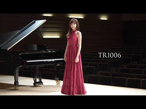【荒井里桜コラボドレス】 TWEED DRESS × RIO ARAI ARTIST Collaboration 【TR1006】
