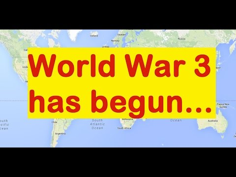 Current geopolitical gameplan for WW3 explained on a world map