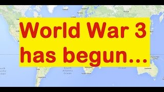Current geopolitical gameplan for WW3 explained on a world map thumbnail