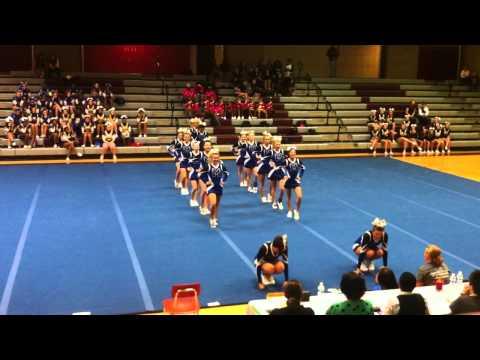 Maiden High School Competition Cheerleaders Oct. 26,2013