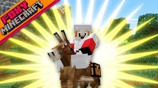 Minecraft | DUDE, WHERE'S MY DONKEY??? | Foxy's Bedrock Survival [24]