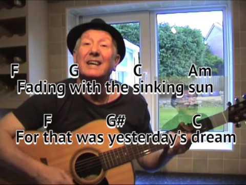 Yesterday\'s Dream - original song - Bob Tulip - singer songwriter ...