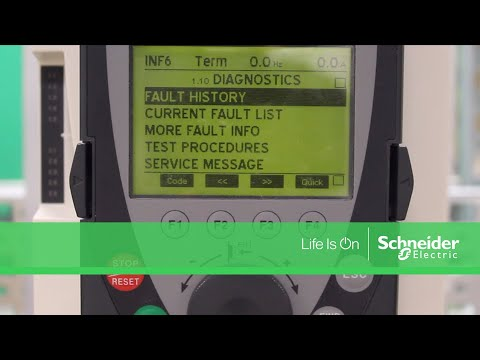 Troubleshooting INF6 Fault on Altivar 61 & 71 Drives | Schneider Electric  Support