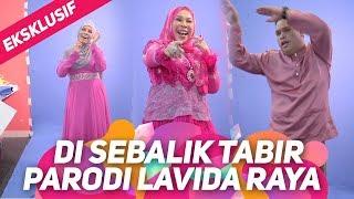 EKSKLUSIF! Di sebalik tabir Parodi DSV Lavida Raya | Dato Seri Vida, Jihan Muse, Syuk, Bell Ngasri