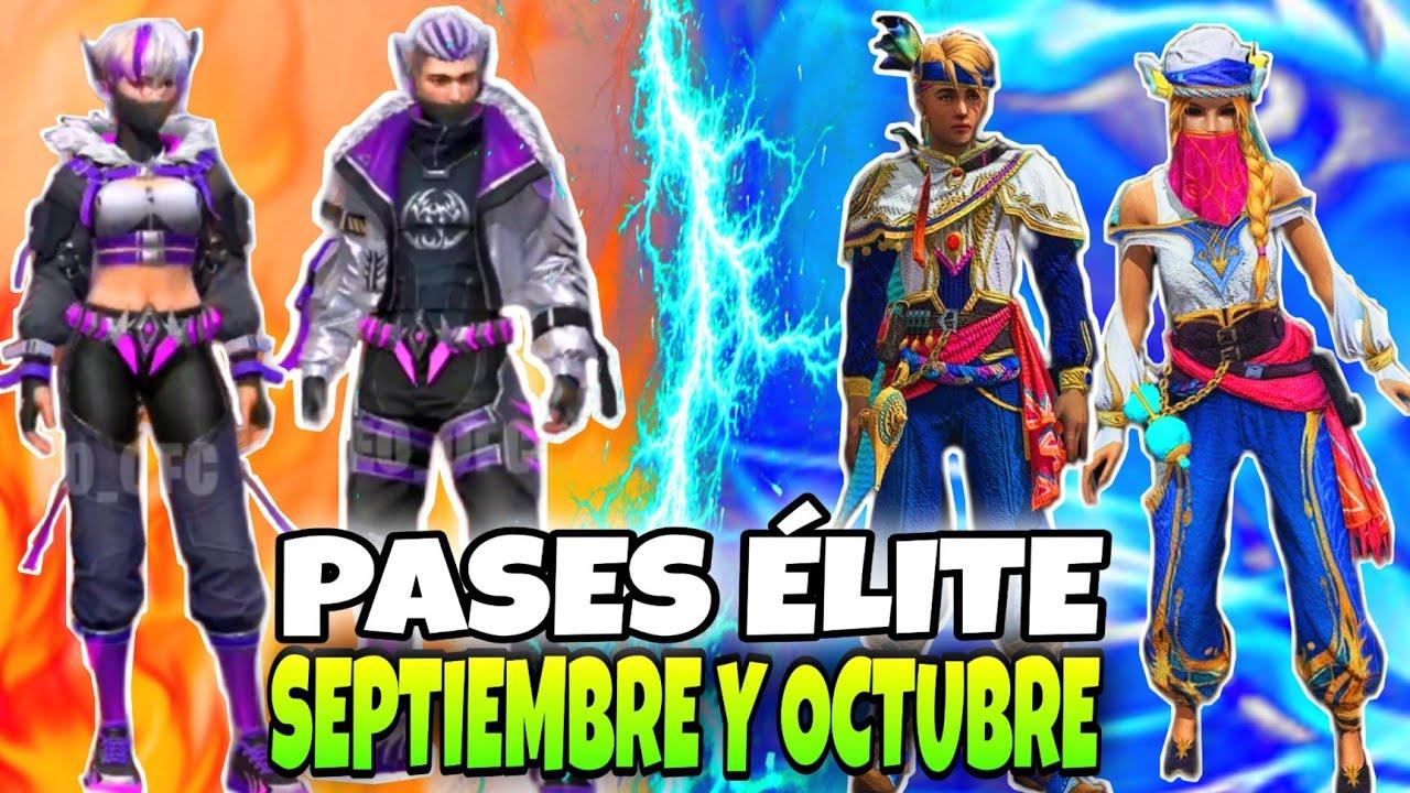 Download PASES ELITE de SEPTIEMBRE y OCTUBRE 2021 COMPLETOS FREE FIRE/ Novedades pases elite