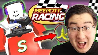 MARIO KART ON ROBLOX - MEEP CITY RACING - Rocket Dolphin