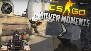CS:GO FUNNY SILVER MOMENTS - NOOB SILVER SQUAD, SILVER FAILS (FUNNY MOMENTS)
