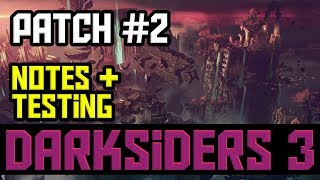 Darksiders 3: New PC Patch (Patch #2) - NOW LIVE!