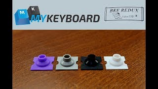 BKE REDUX domes review (in a Topre Realforce)