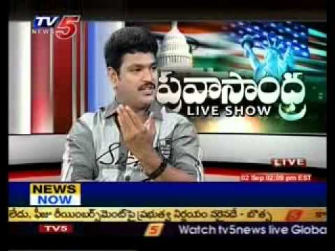 Mimicry Siva Reddy Live Show with Pravasandhara - TV5 Part 1