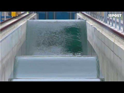 Esta máquina crea las olas artificiales más grandes del mundo - 15 POST