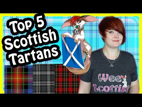 Top 5 Scottish Tartans