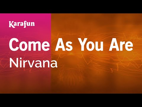 Karaoke Come As You Are - Nirvana *