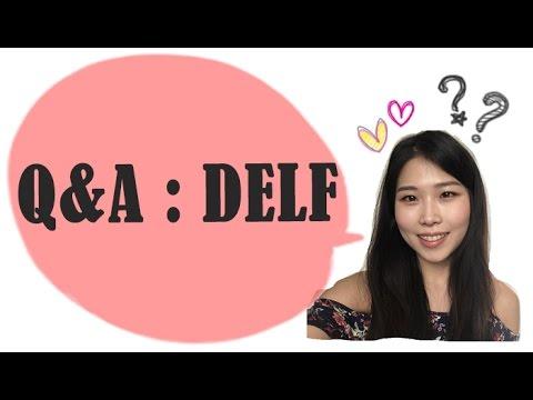 Q&A _ 프랑스어 DELF시험 준비하기